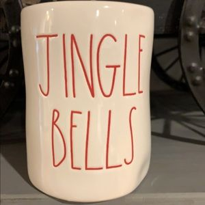 Sm Rae Dunn jungle bells balsam ceramic candle 🕯